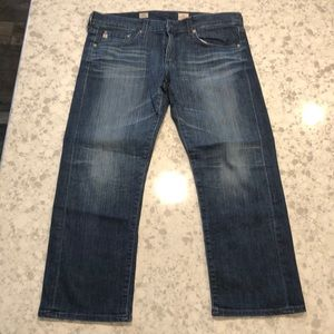 AG tomboy crop jeans, size 30 women's